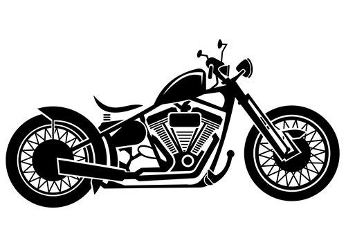 バイクシルエット